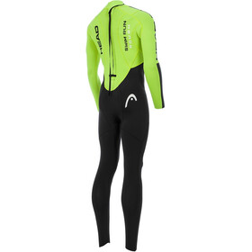 HEAD M's SwimRun Rough Black (BK)/Flourocent Lime (FL)